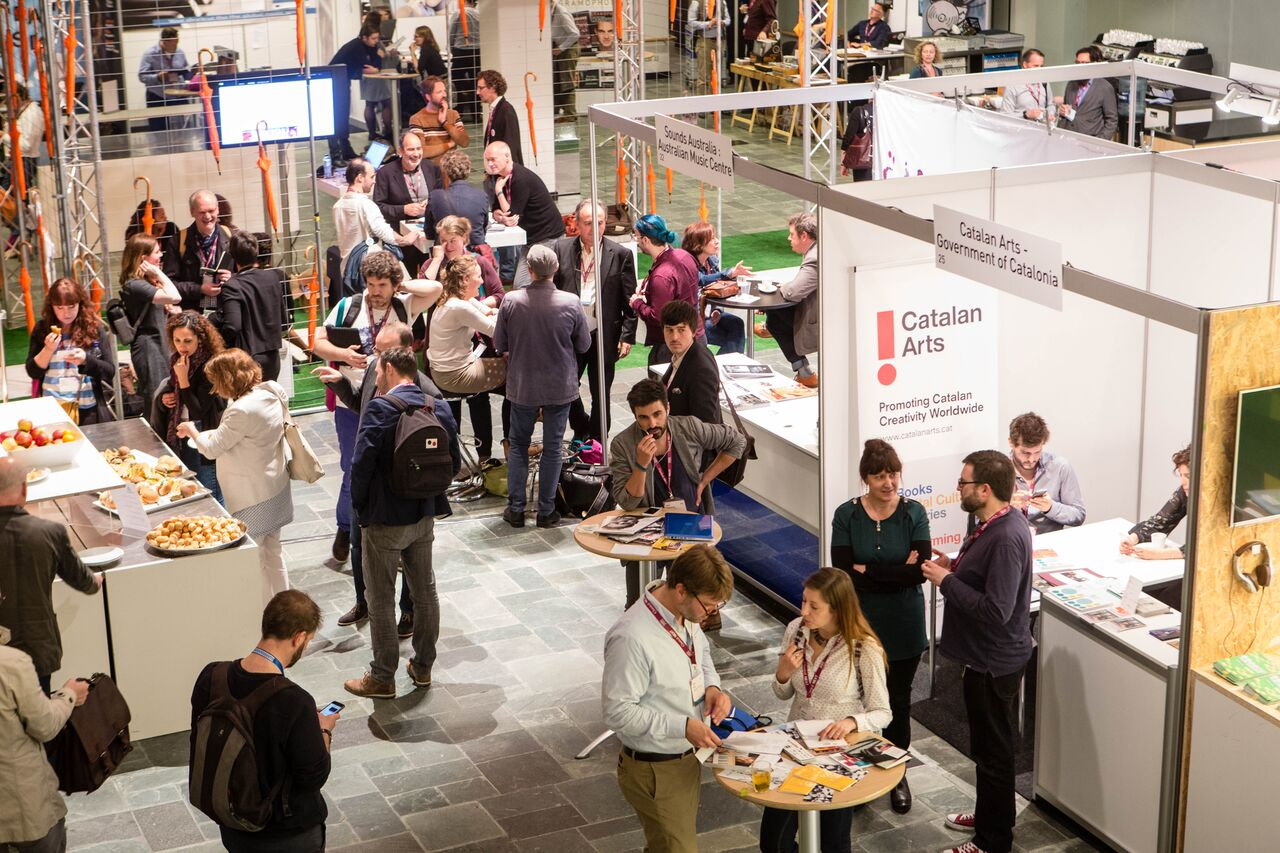 Lunchtime in the Expo Area of Classical:NEXT. (Photo by Eric van Nieuwland.)