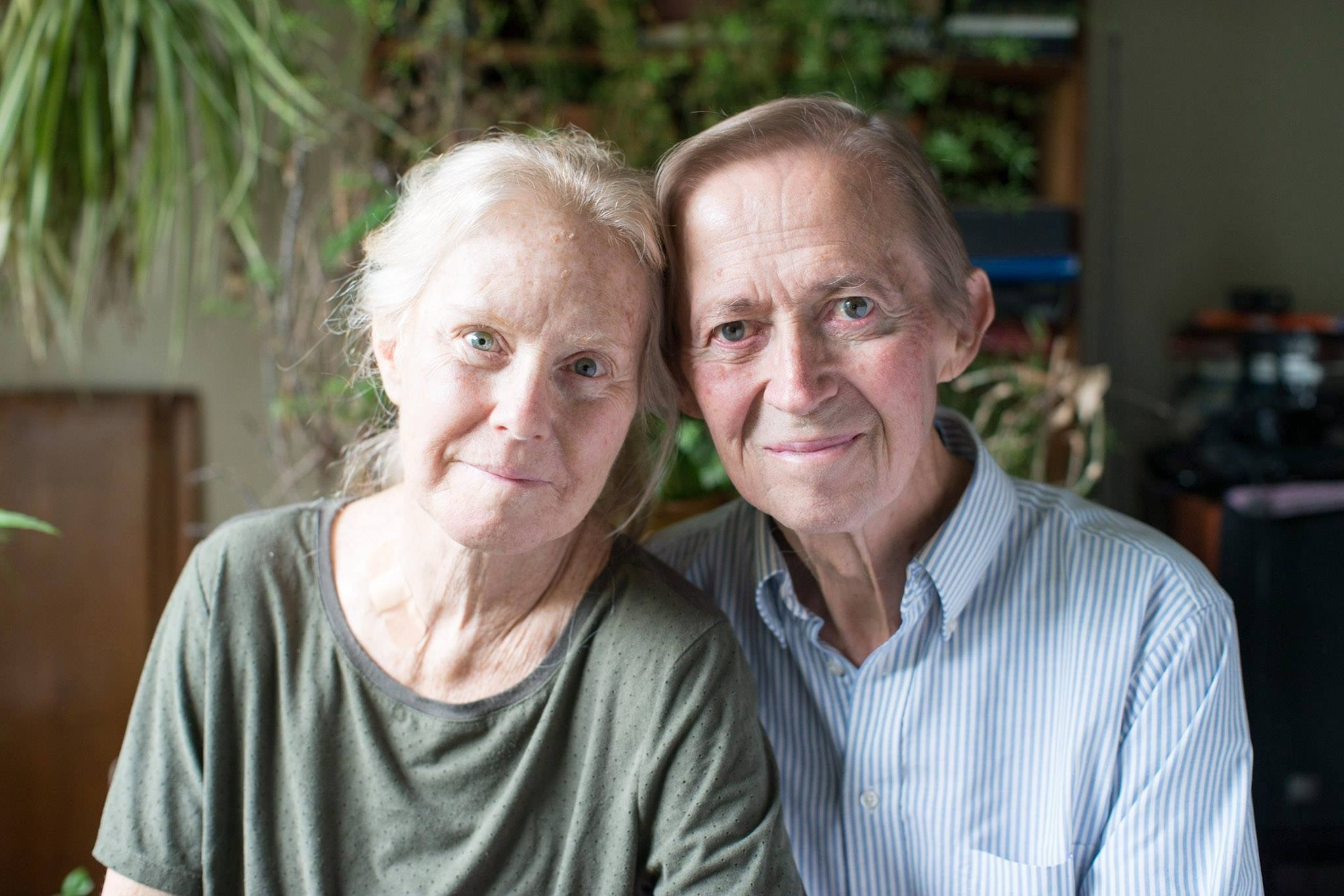 Alison and David Maslanka in late June 2017