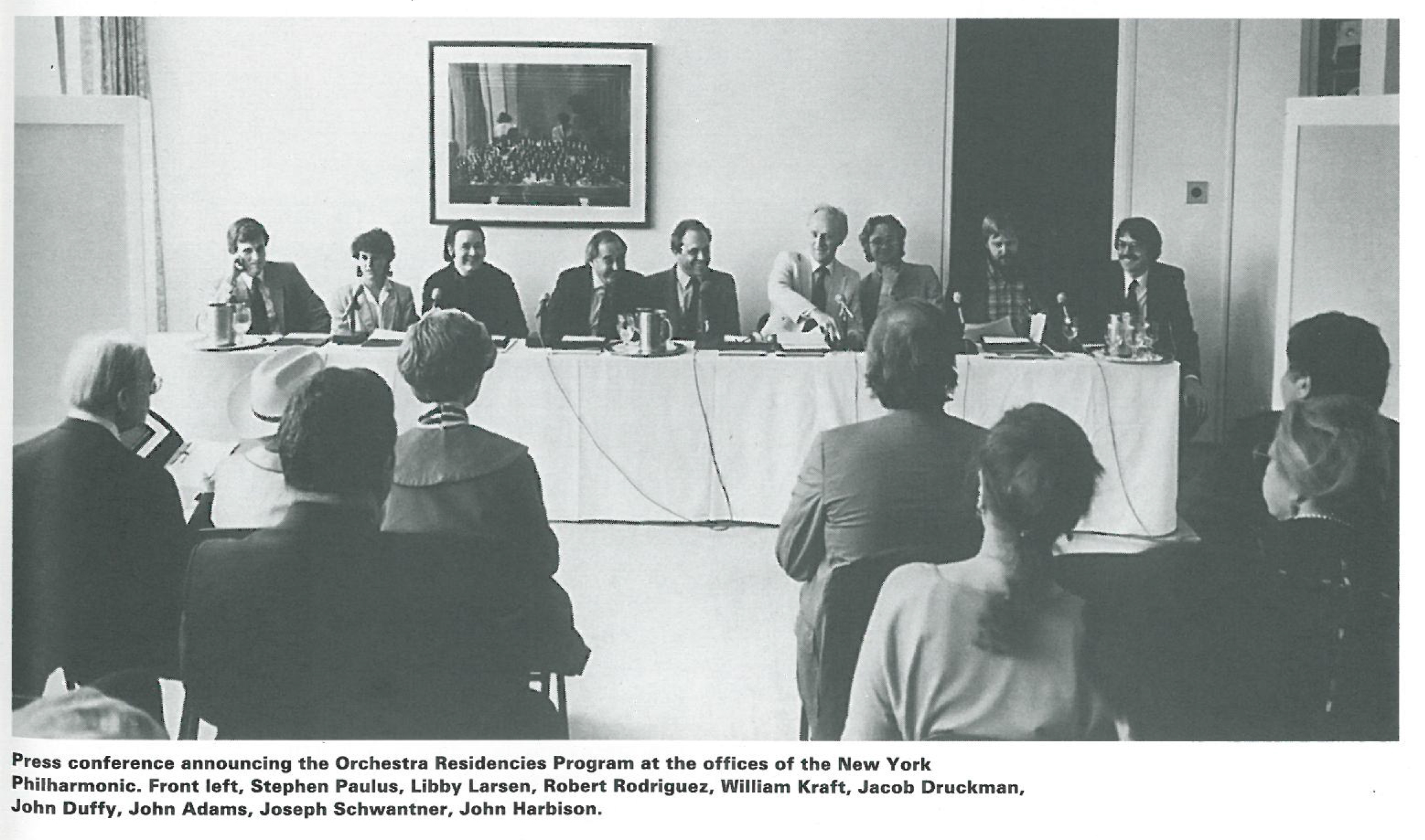 press conference for Horizons